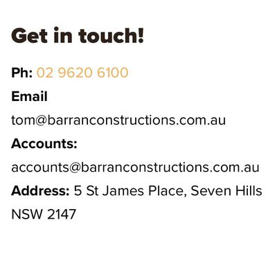 Real Barran Contracting