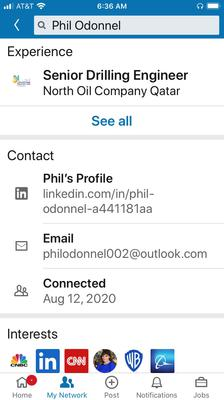 Phil Odonnel Linkedin Contact Info