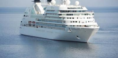 A Stock News Image of a Passenger Liner Used by African Scammers