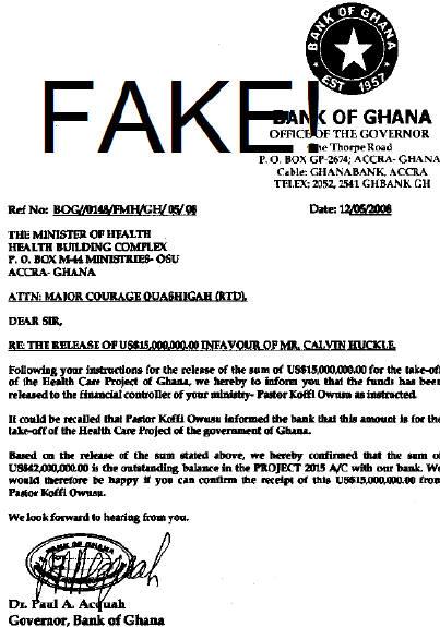 Ghana scams
