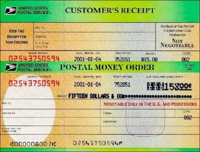 money order scam